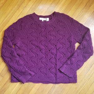 Plum Purple Cashmere Tee